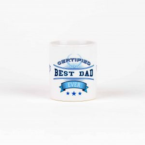 Standard 10oz Certified Best Dad Mug