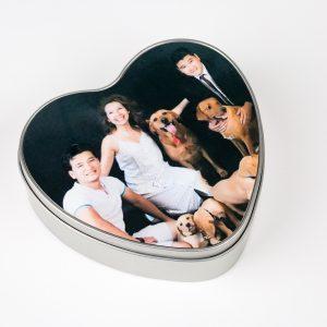 Heart Gift Tin