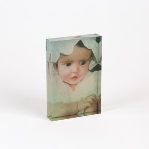 Acrylic Photo Glass Block (4 x 6″) Print